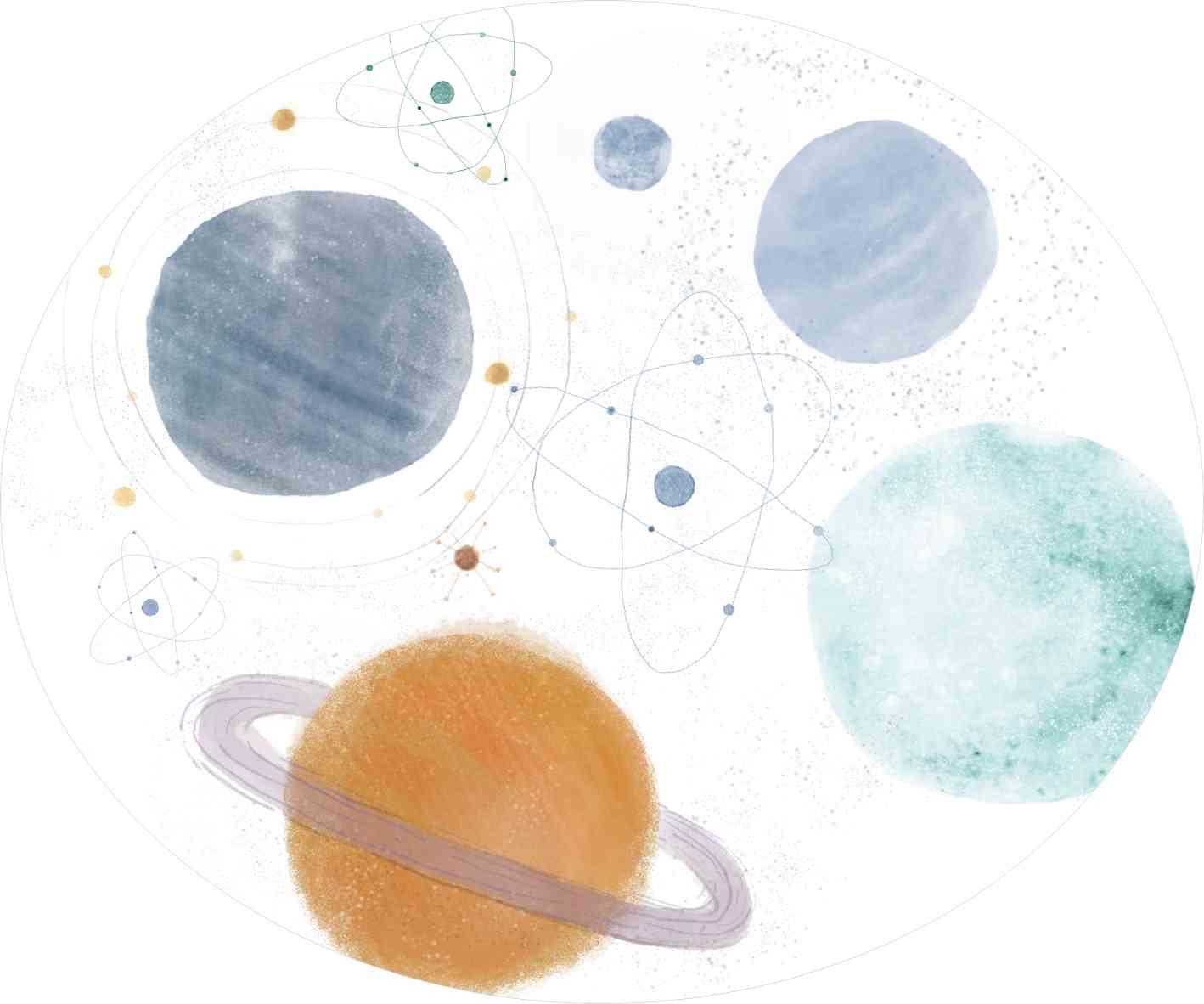 Tapete planetas