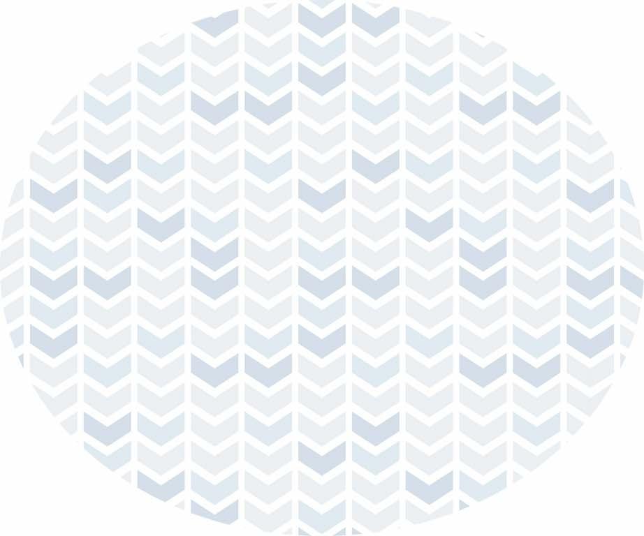 Tapete setas azul Oval 160