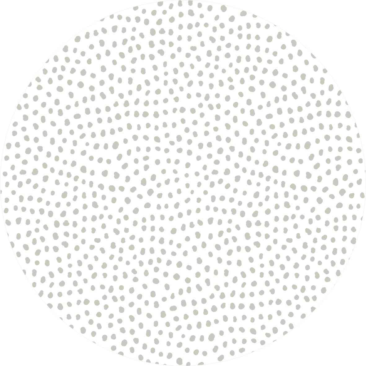Tapete spots cinza