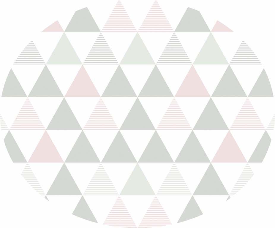 Tapete triângulos rosa