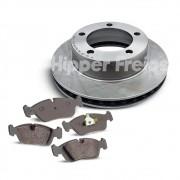Kit freios Pastilhas + Discos F1000 93 em diante