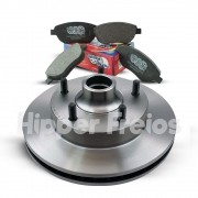 Kit Freios Pastilhas + Discos F1000 até 1992