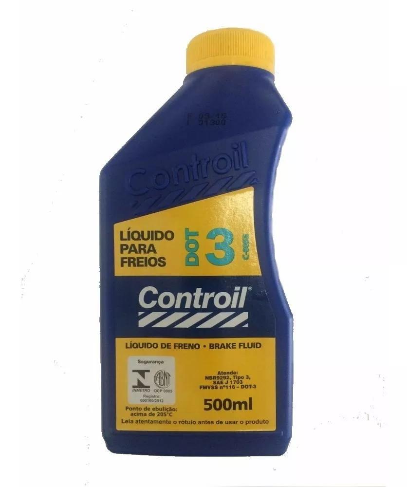 Fluido Freio Dot3 Controil 500ml