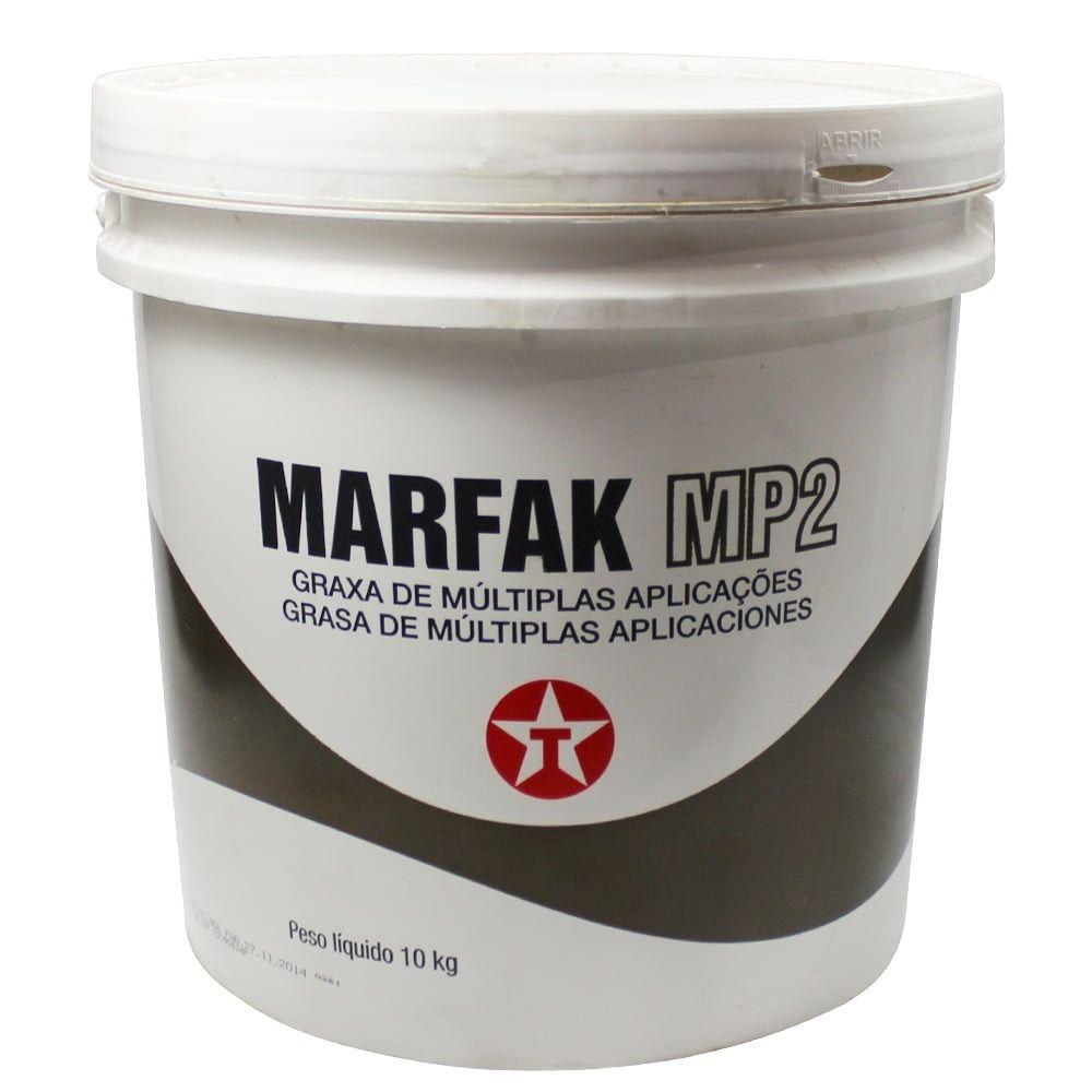 Graxa De Múltiplas Aplicações Marfak Mp2 10kg