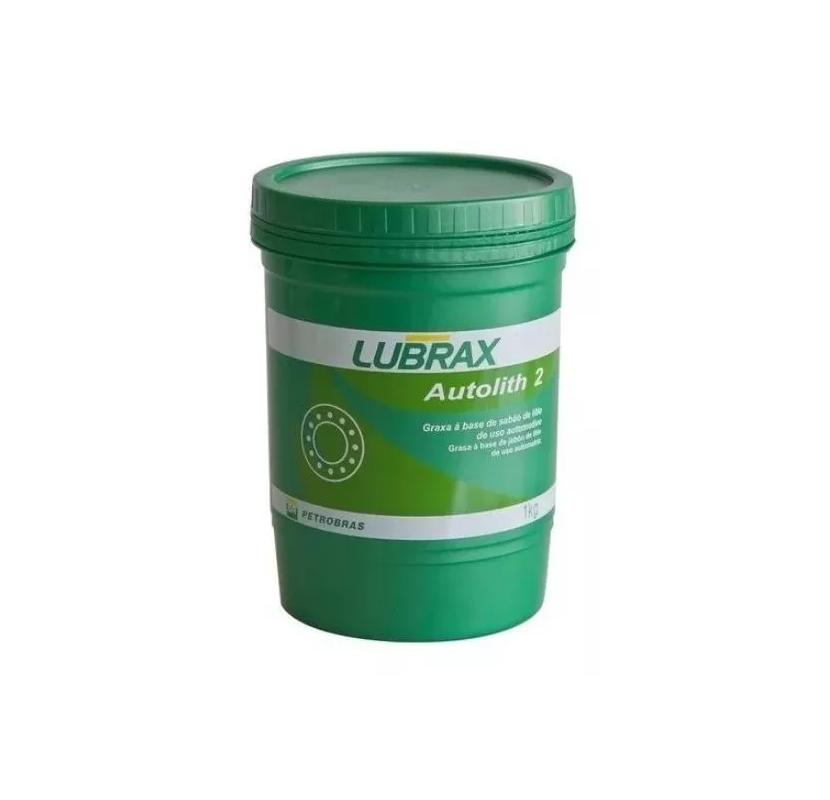 Graxa Para Rolamento Sabão Lítio Lubrax Autolith 2 - 1 Kg
