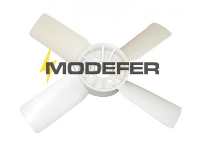 Hélice Ventilador D20/D40 Plástico 4 Pás