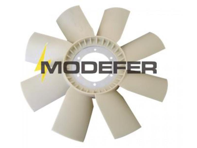 Hélice Ventilador L1718/2423 Plástico 8 Pás