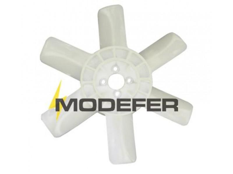 Hélice Ventilador VW7100/8140 MWM Plástico 6 Pás