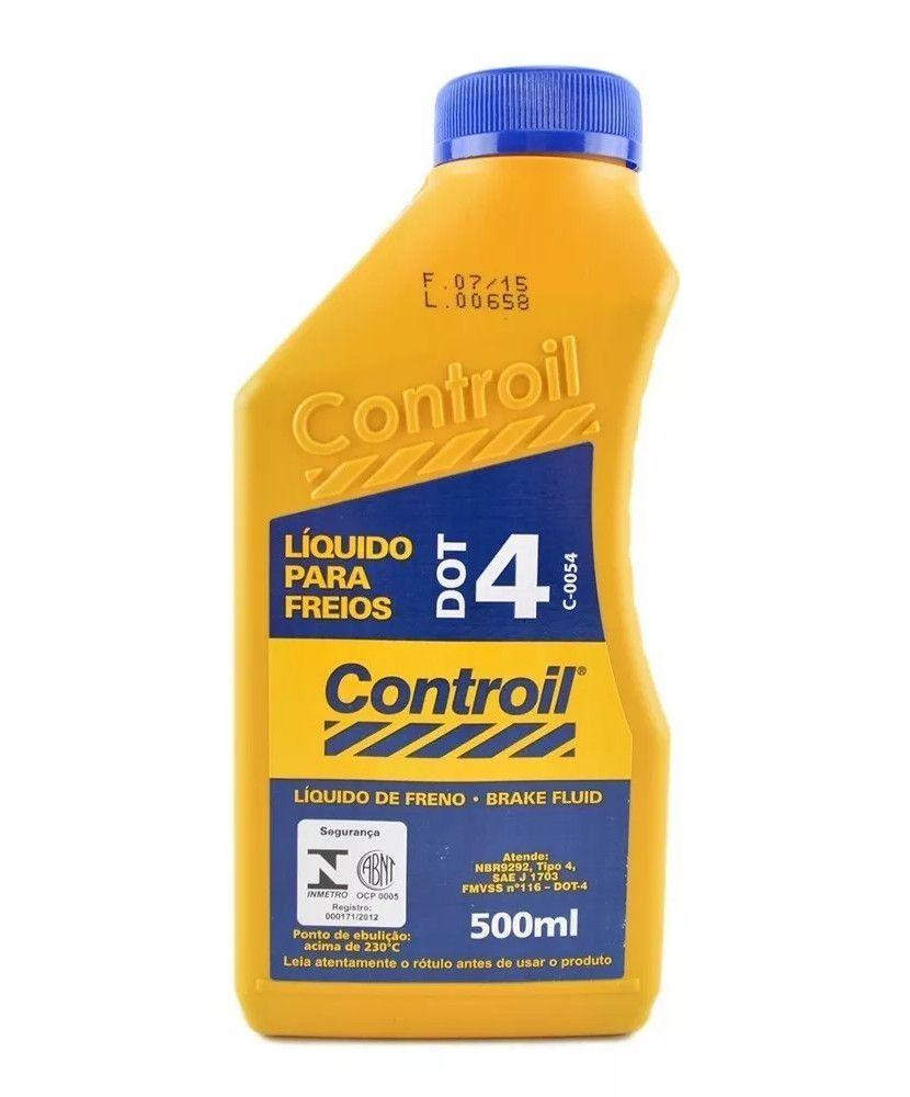 Líquido De Freios Dot 4 Controil 500ml
