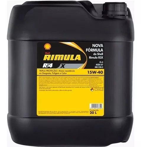 Óleo Lubrificante Shell Rimula RT4 x 15w40 Ci4 Mineral