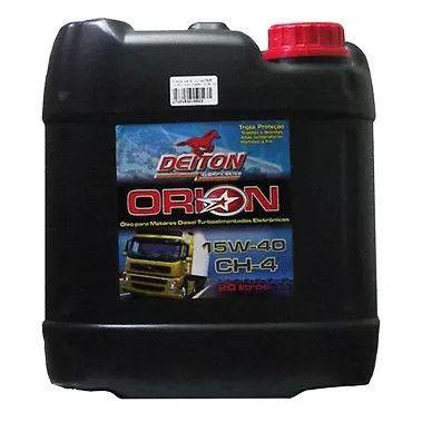 Óleo Para Motor Orion 15w40/ch-4 Balde De 20 Litros - Deito