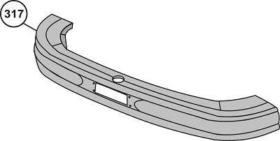 Parachoque Dianteiro L1519/ Antigo