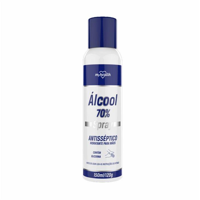 ÁLCOOL 70% SPRAY ANTISSÉPTICO 150ml/120g