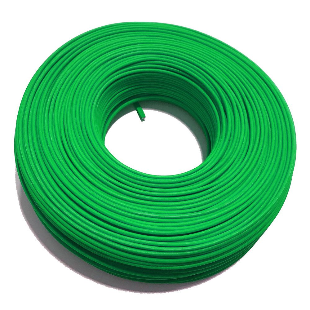 CABO FLEXÍVEL S 750V 6MM VERDE CONTROLLER