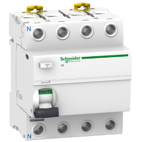 INTERRUPTOR DIFERENCIAL RESIDUAL ACTI9 iID 4P 40A 30mA CLASSE AC 415V