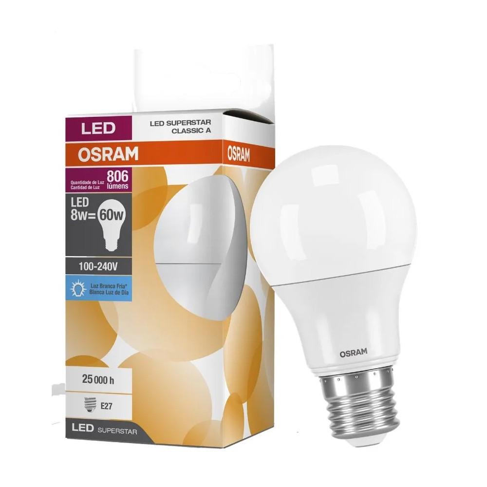 LAMPADA BULBO LED 8W BIV E27 6500K 803LM