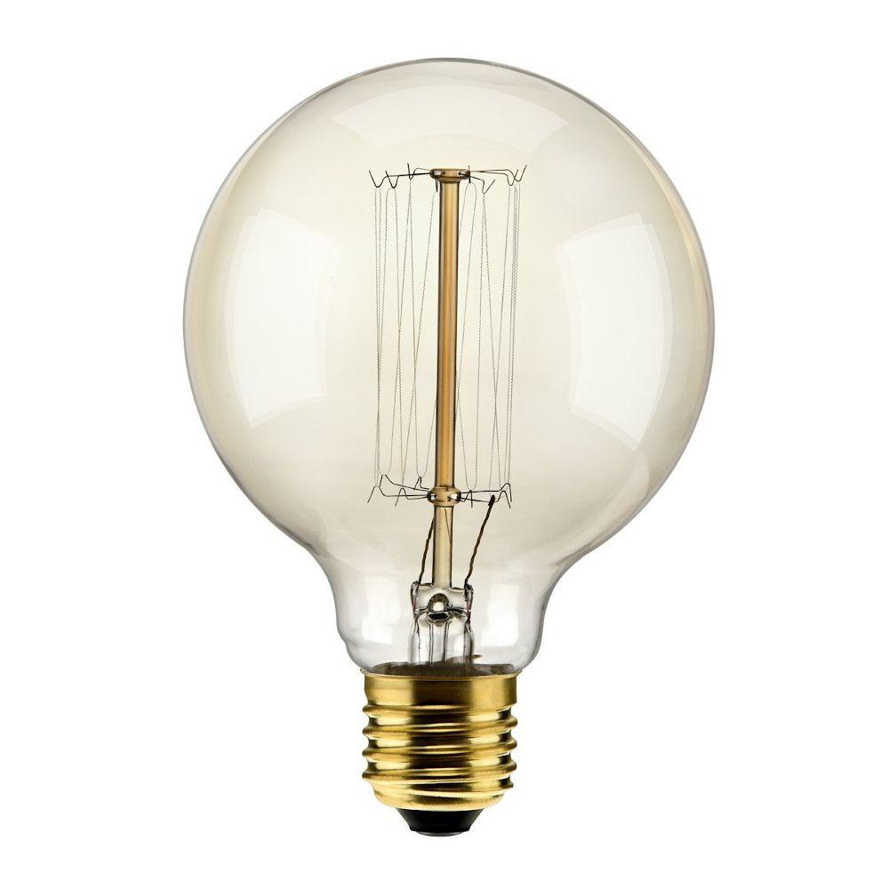 Lâmpada Decorativa G125 60W Incandecente E27 220V