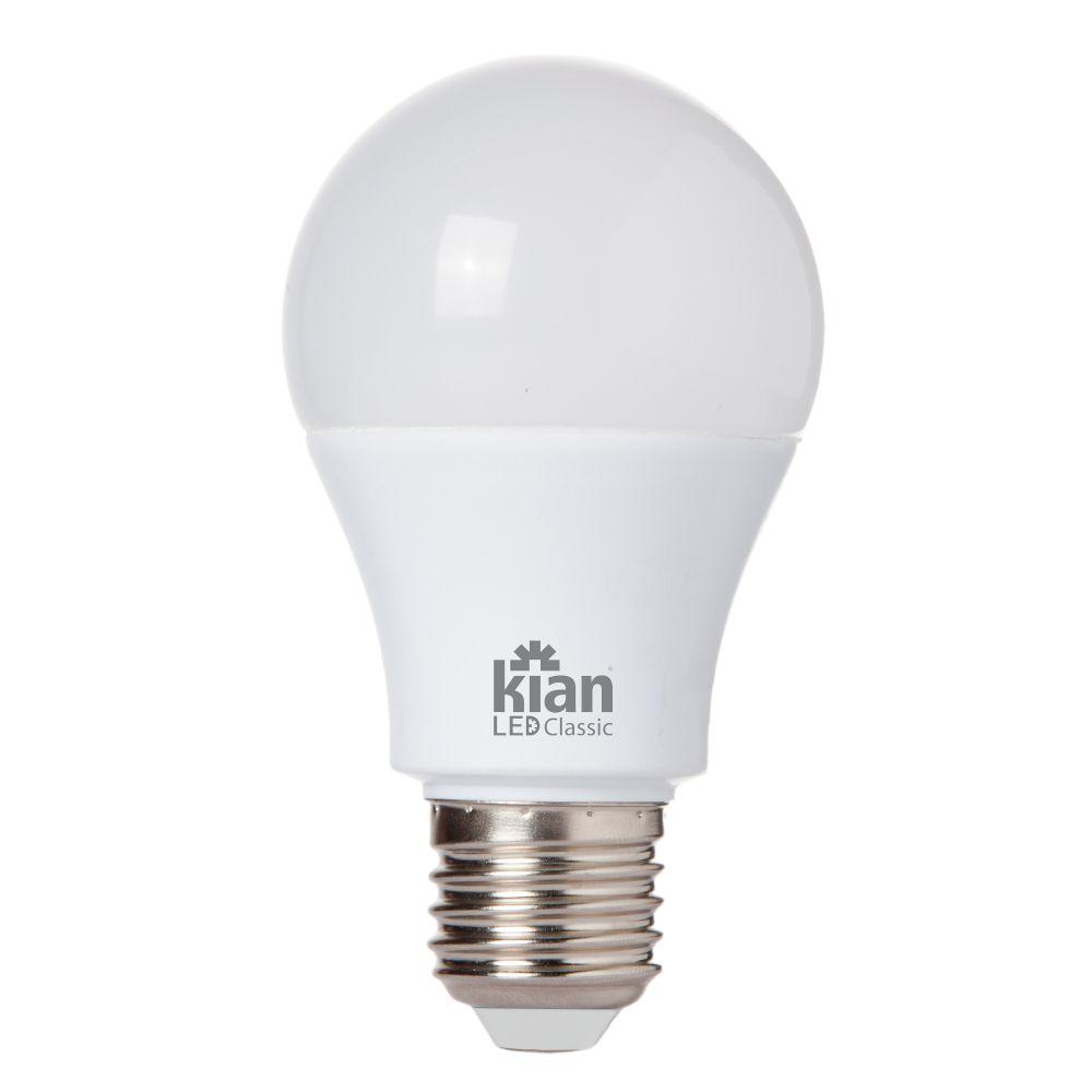 Lâmpada Kian LED Classic 6W Branca Morna 3000K Base E27 100-240V