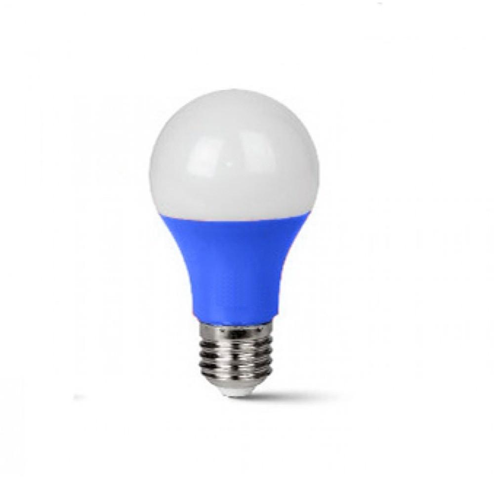 Lâmpada LED Classic 7W Azul E27 100-240V