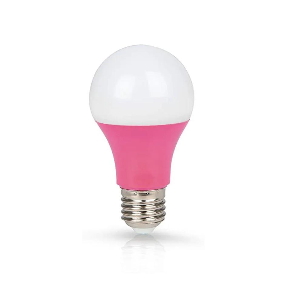Lâmpada LED Classic 7W Rosa E27 100-240V
