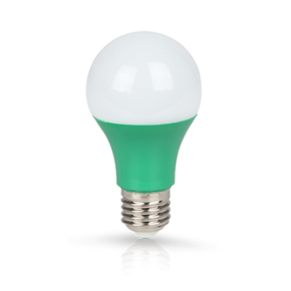 Lâmpada LED Classic 7W Verde E27 100-240V
