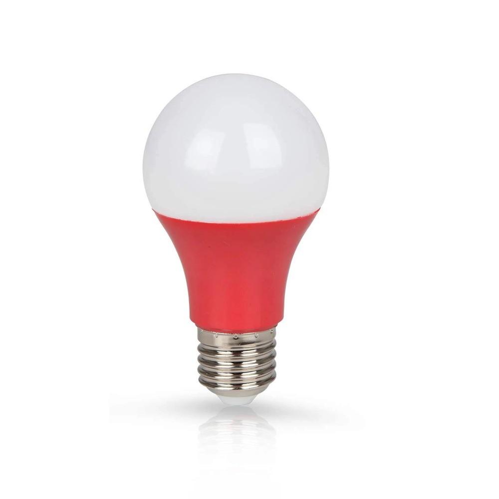 Lâmpada LED Classic 7W Vermelha E27 100-240V