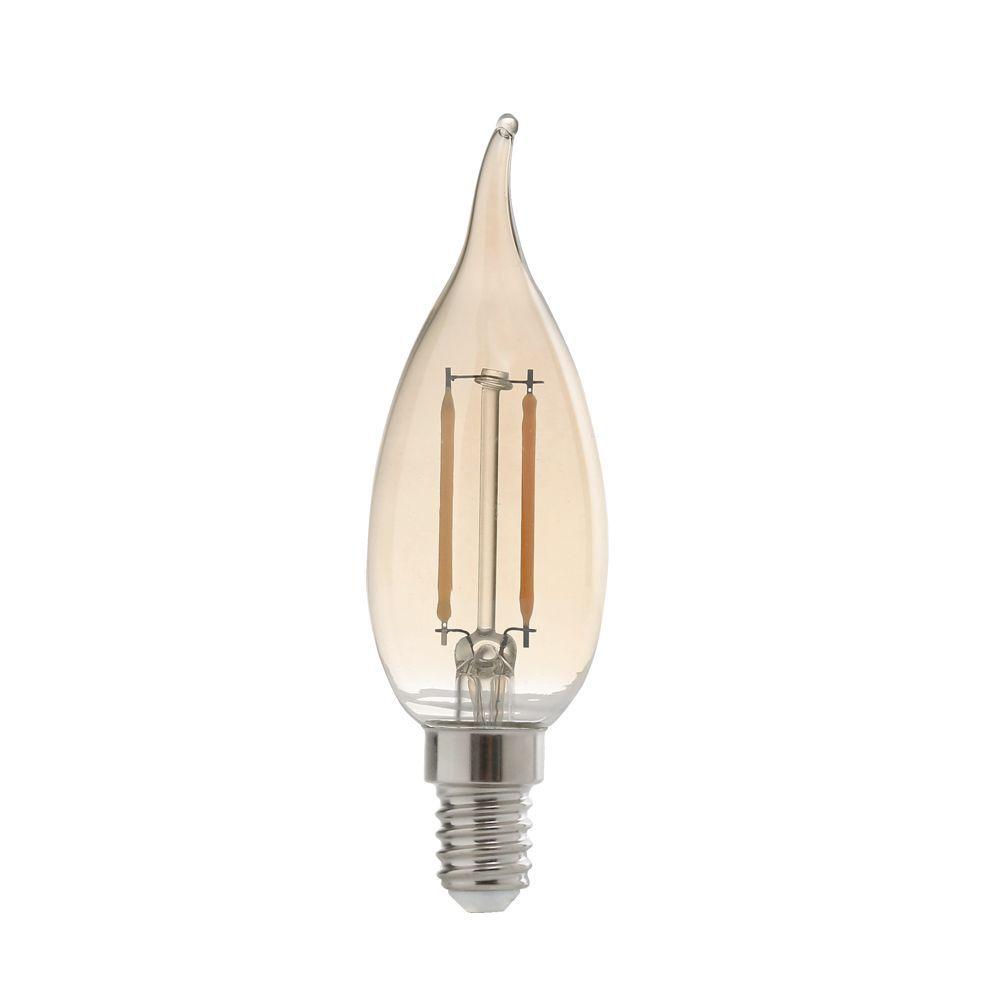 Lâmpada LED VELA  Filamento 2W 2200K E27 100-240V