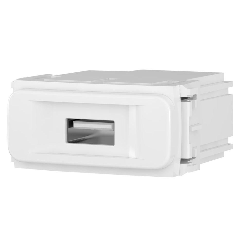 Módulo Carregador USB Bivolt BRANCO COMPOSÉ