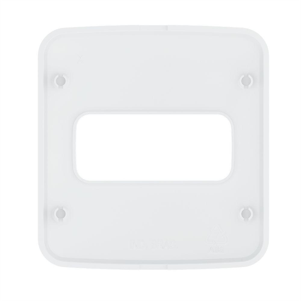 Placa de Embutir Móveis/Pedra Redondo 60MM P/1 Módulo BR COMPOSÉ