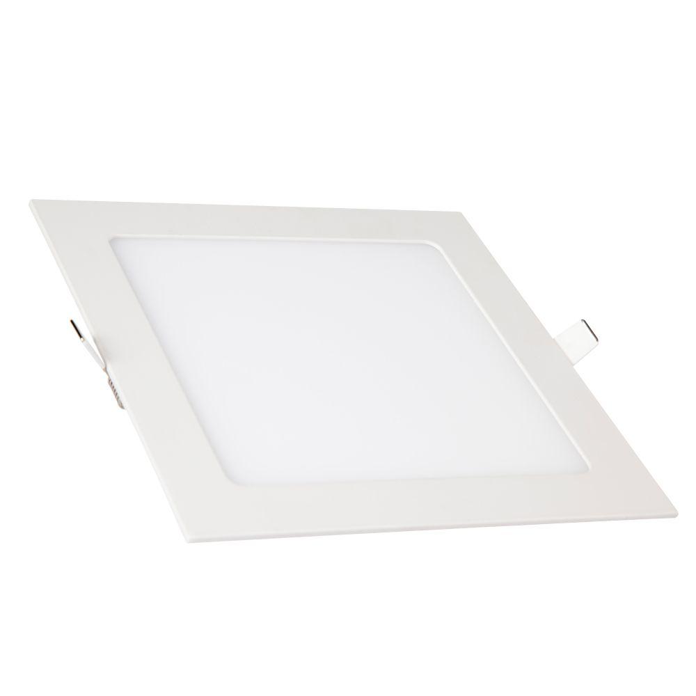 Plafon LED de Embutir 24W Branca Fria 6500K Bivolt