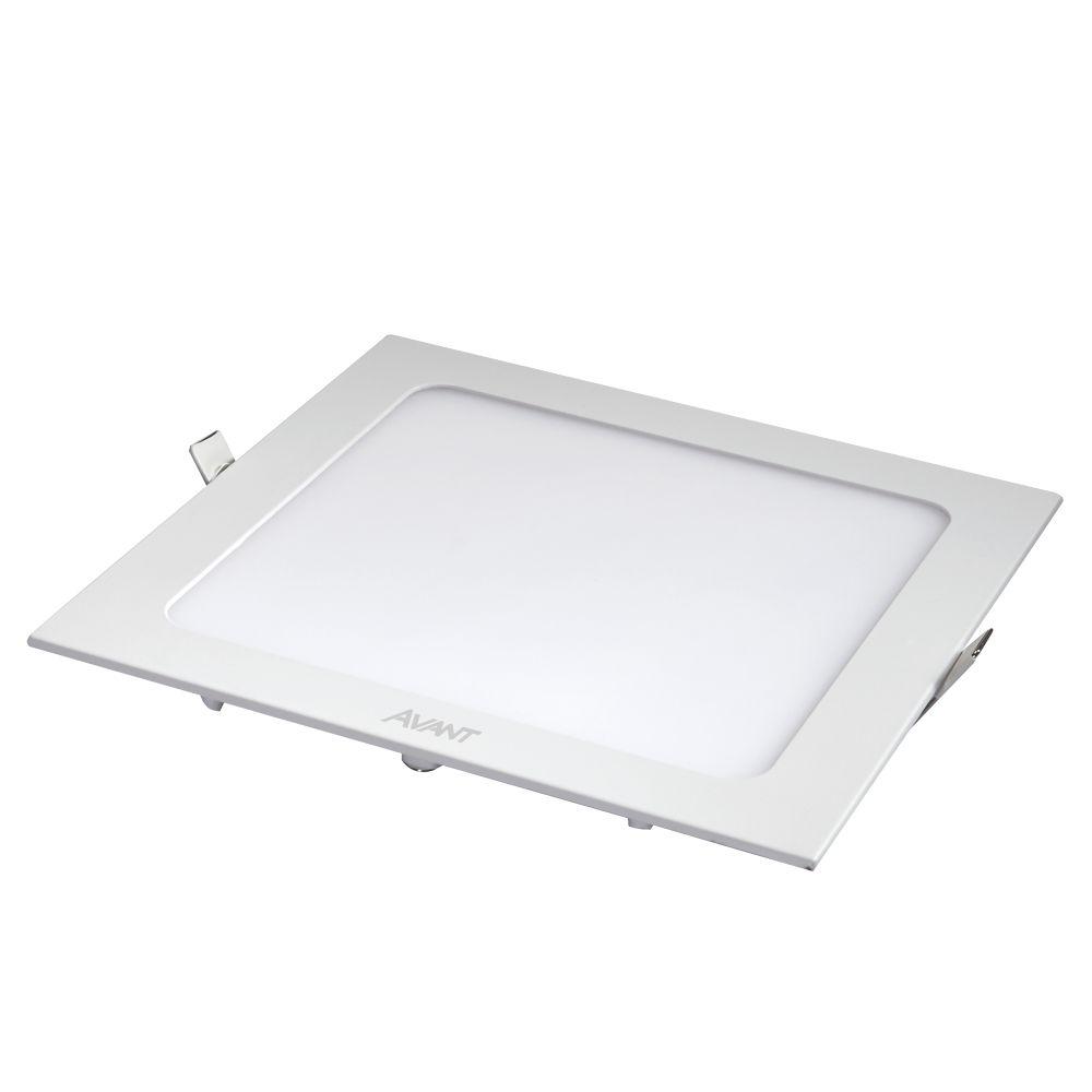 Plafon LED de Embutir 18W Branco Neutro 4000K Bivolt