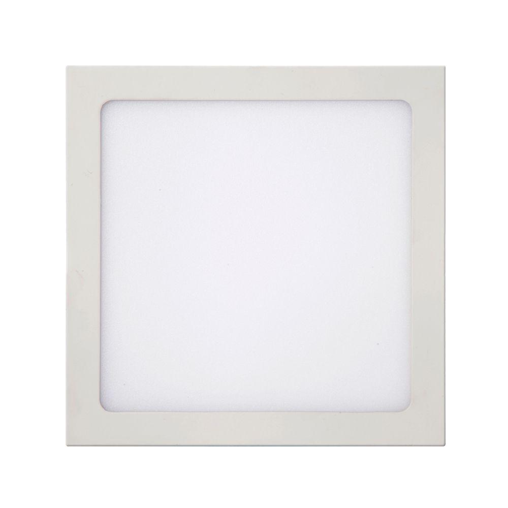 Plafon LED de Sobrepor 18W Branco Frio 6500K Bivolt