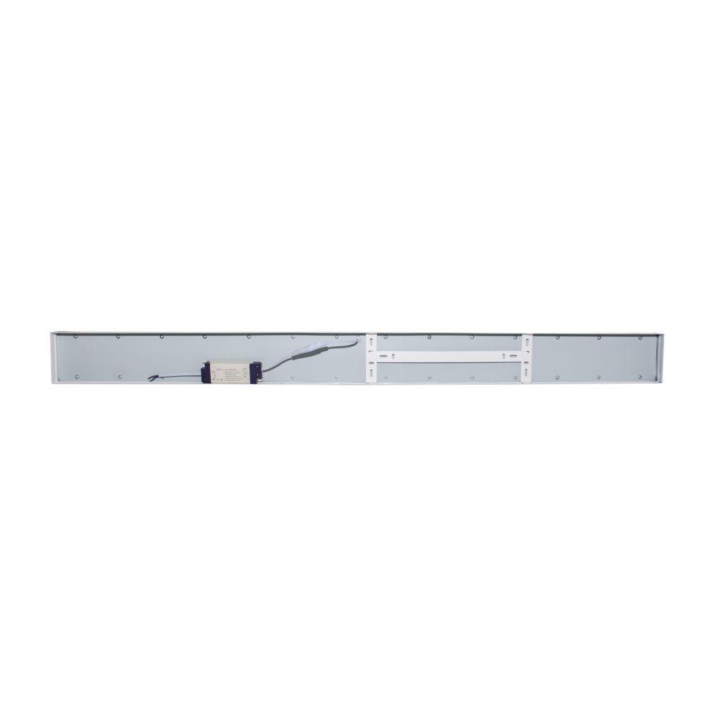 Plafon LED de Sobrepor Retangular 36W Branco Frio 6500K Bivolt