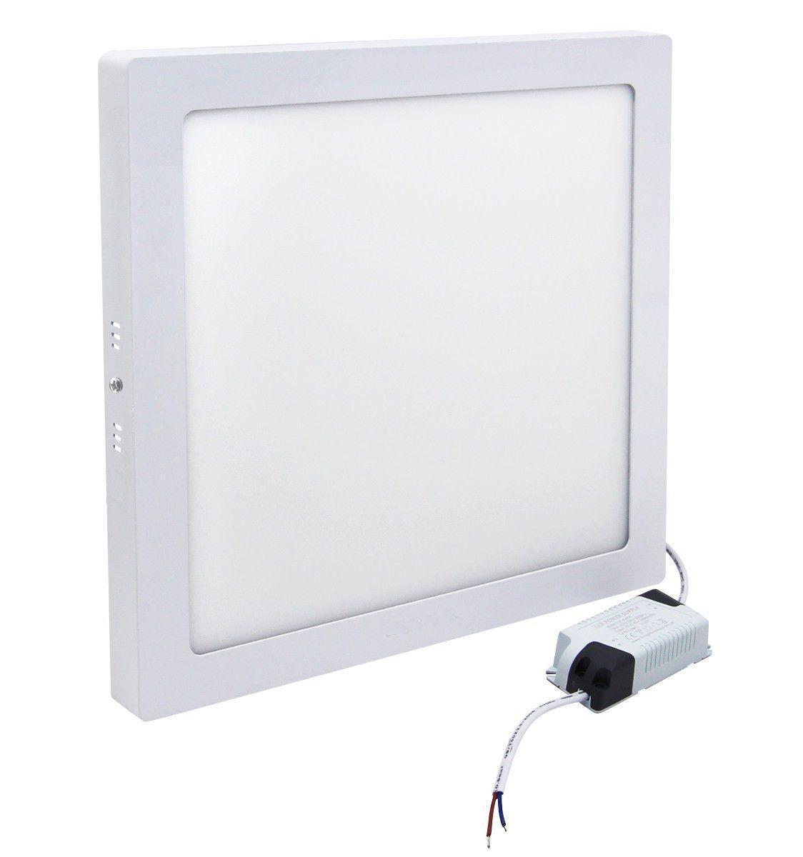 Plafon LED de Sobrepor 30W Branco Frio 6500K Bivolt