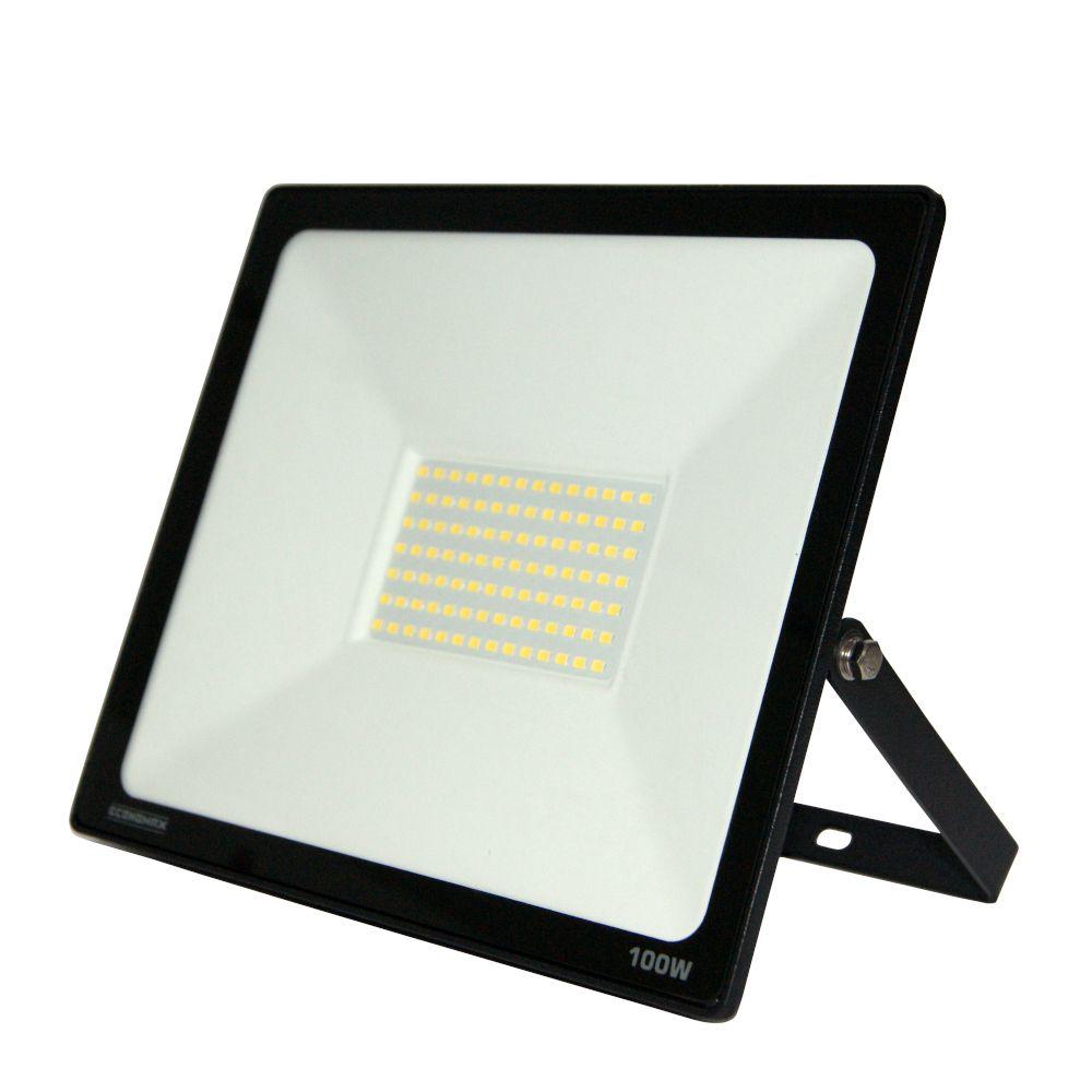 Refletor LED 100W Branca 6500K Bivolt IP65