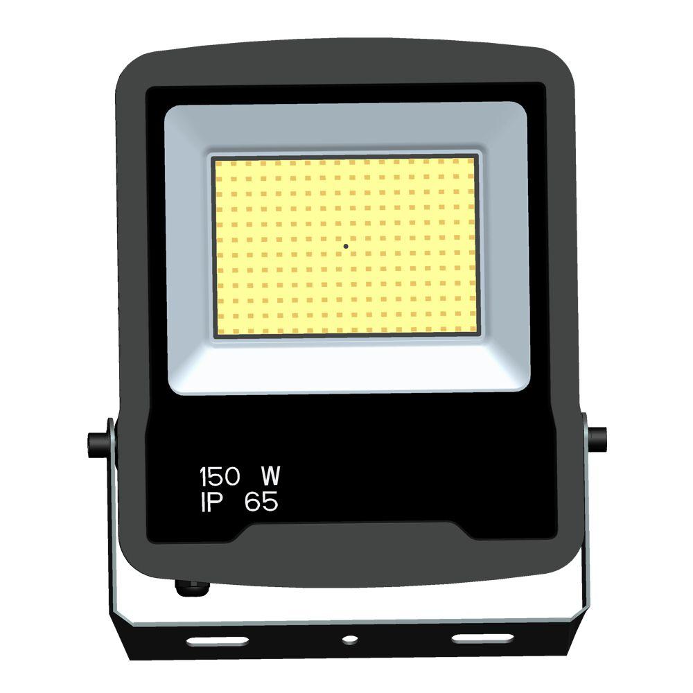 REFLETOR LED 150W BRANCA 6500K BIVOLT IP65