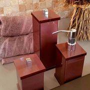 Porta Objetos Duo para Bancadas de Banheiros e Lavabos