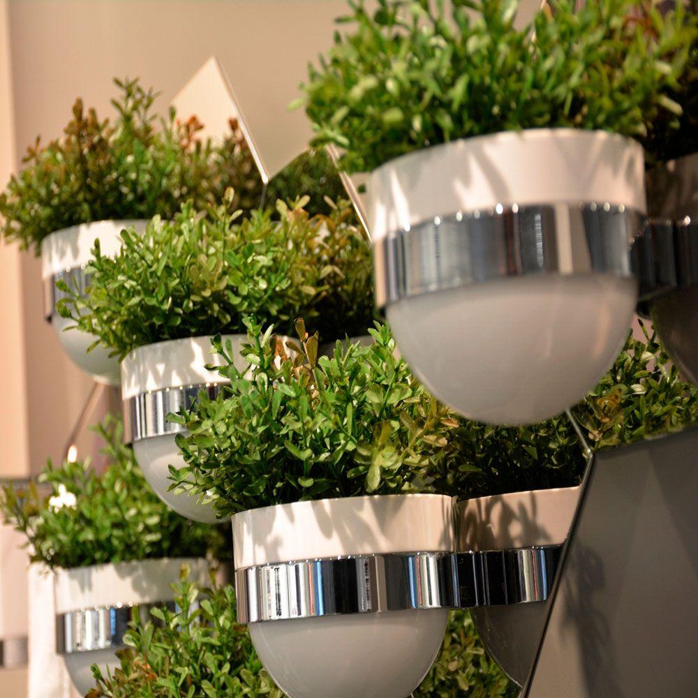 Módulo Painel Verde Elemento para Banheiros e Lavabos