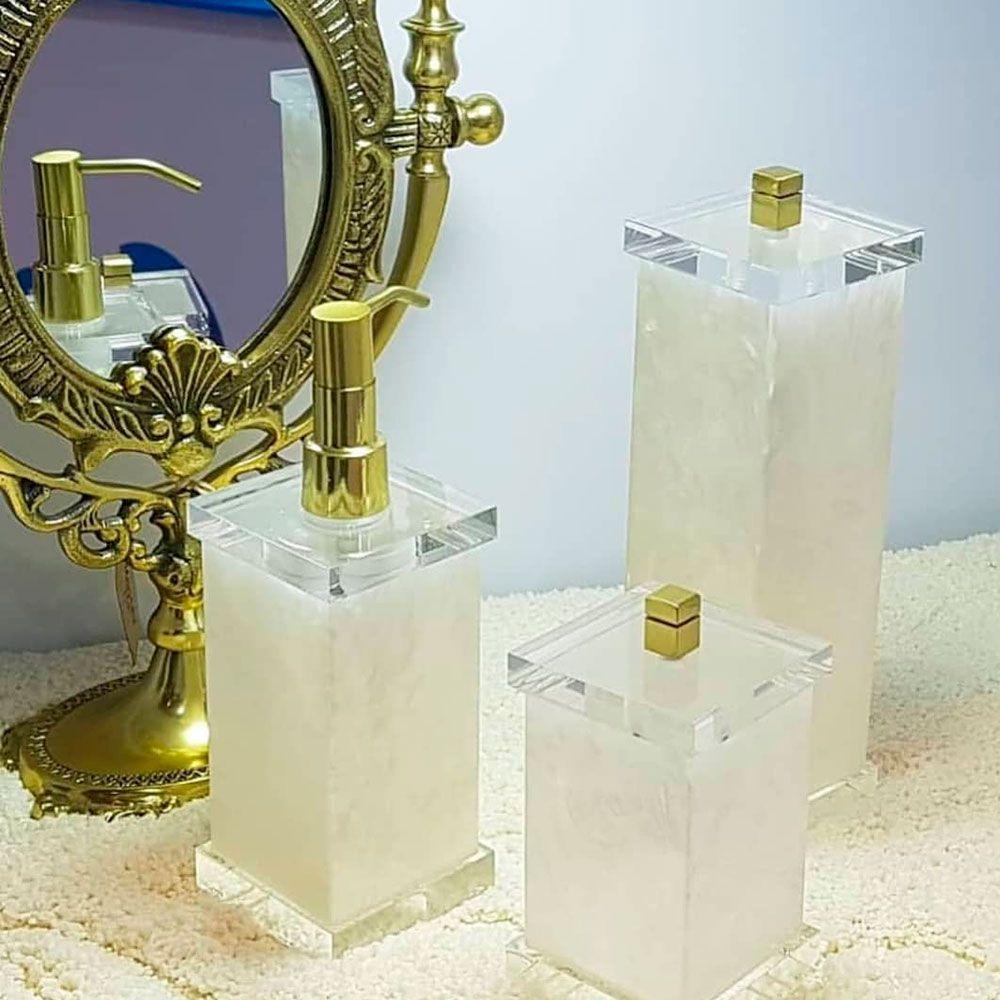Porta Escovas Charm Duo para Bancadas de Banheiros e Lavabos