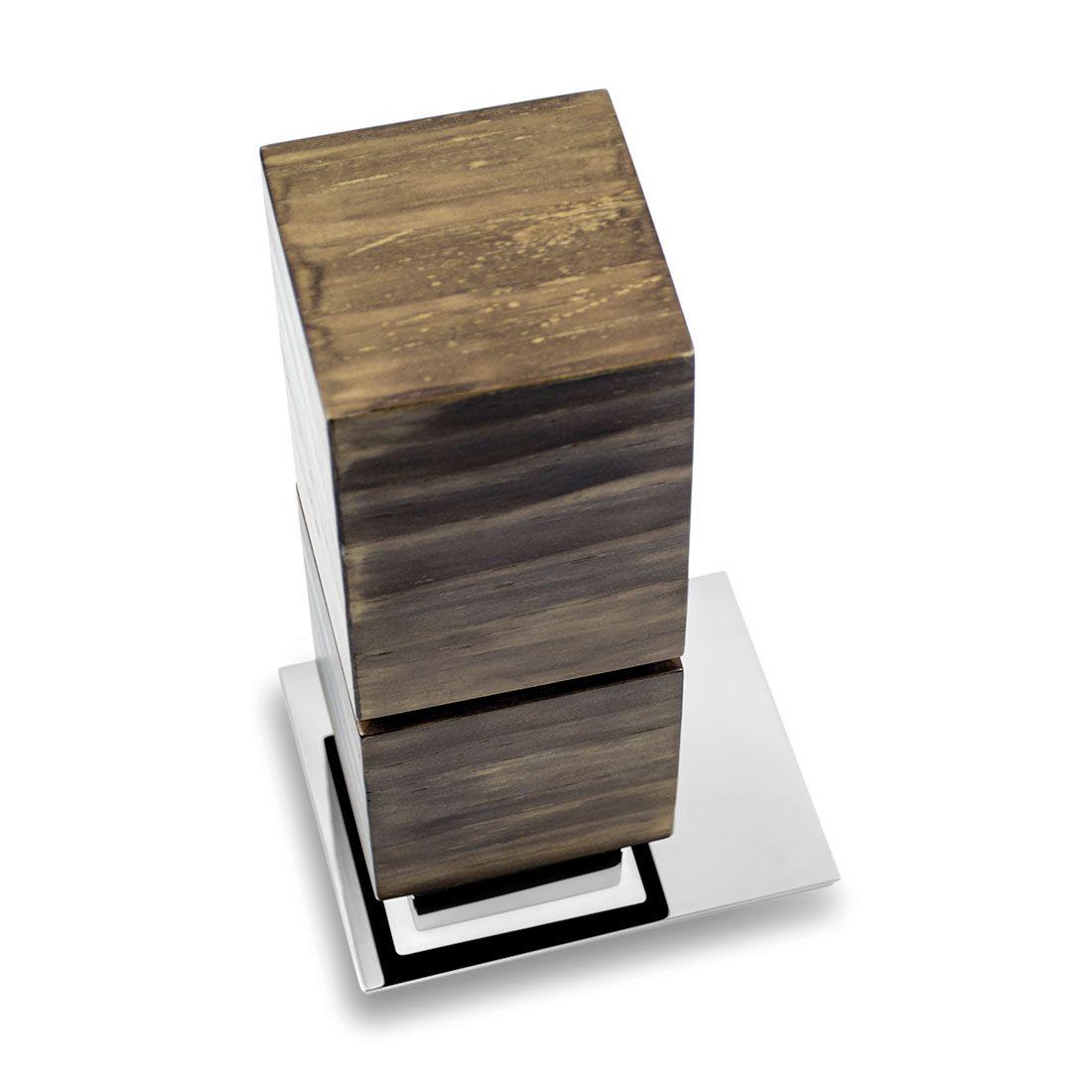 Porta Objetos de Balcão Oriente Wood para Banheiros e Lavabos