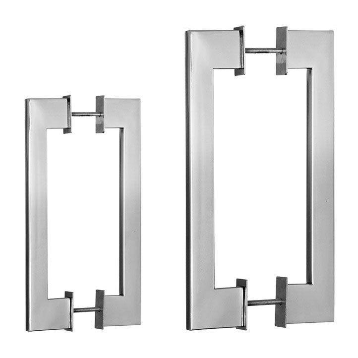 Puxador de Porta 322 em Inox 304 Duplo(2 peças)