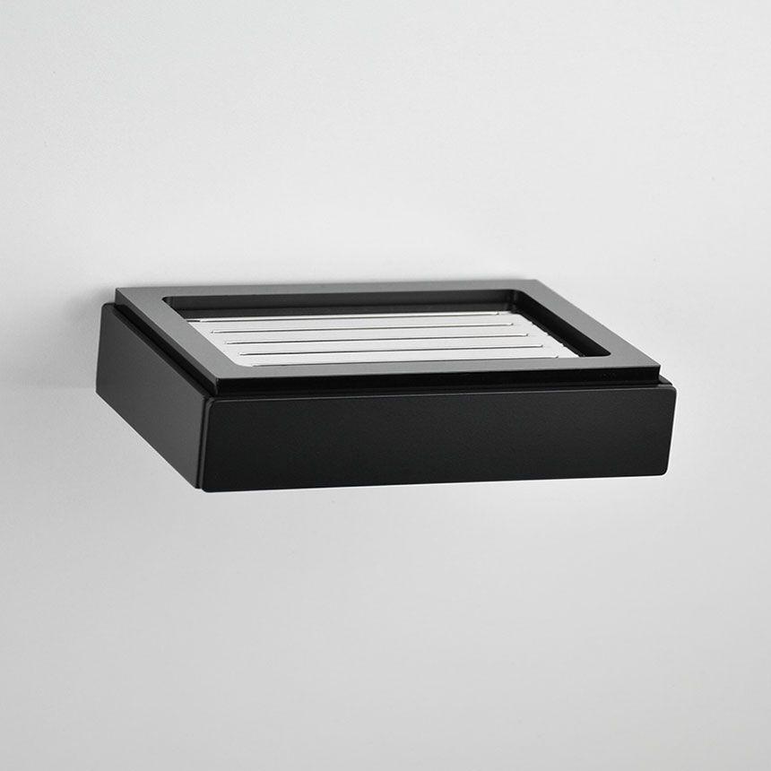 Saboneteira Fixa de Parede Soho para Banheiros e Lavabos