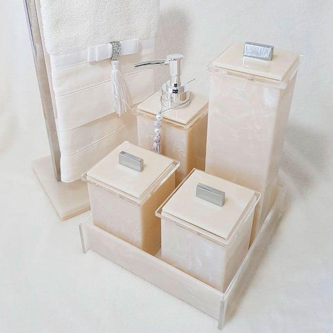 Saboneteira Líquida Advance para Bancadas de Banheiros e Lavabos