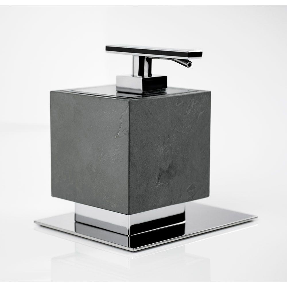 Saboneteira Líquida de Balcão Oriente Stone para Banheiros e Lavabos