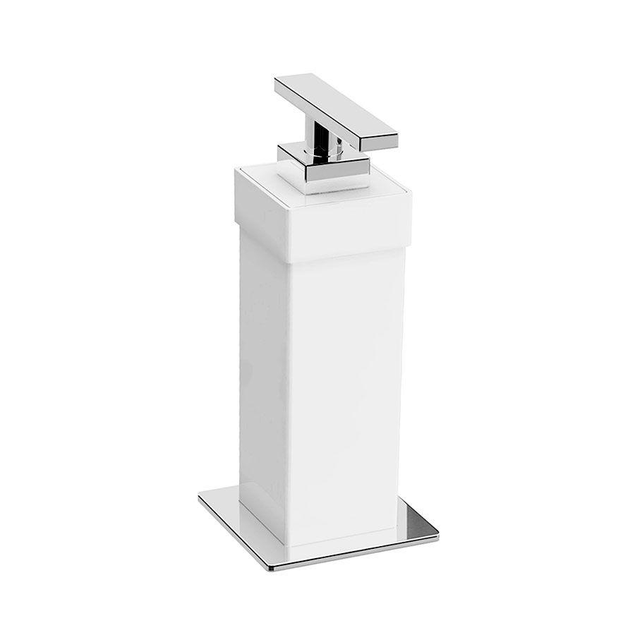 Saboneteira Líquida de Balcão Spirit para Banheiros e Lavabos