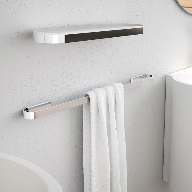 Toalheiro Simples Woman para Banheiros e Lavabos