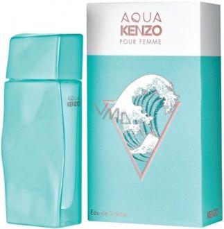 Perfume Aqua Pour Femme Kenzo Eau de Toilette Feminino 100ml