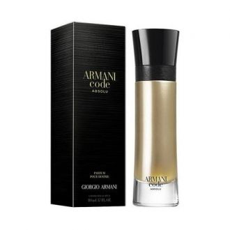 Perfume Code Absolu Giorgio Armani Eau de Parfum Masculino 110ml