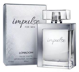 Perfume Impulse for Men Lonkoom Eau de Toilette 100ml Masculino