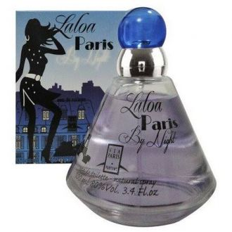 Perfume Laloa Paris by Night Via Paris Eau de Toilette Feminino 100ml